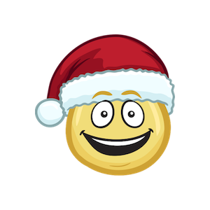 Merry Christmas Emojis - Christmas Stickers messages sticker-4