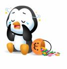 Waddles Halloween Stickers messages sticker-11