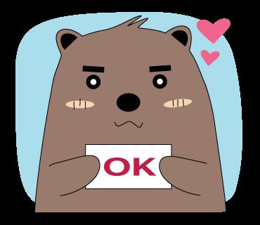 Pigkabear messages sticker-8