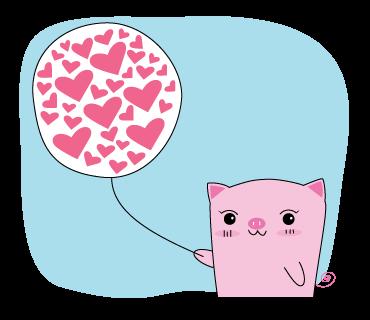 Pigkabear messages sticker-5