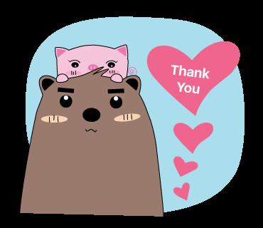Pigkabear messages sticker-4