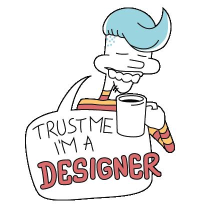 I am a designer - Lite messages sticker-0