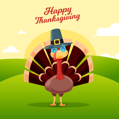 Thanksgiving Wishes messages sticker-2