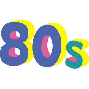 80s Emoji Retro Flashback Stickers for iMessage messages sticker-9