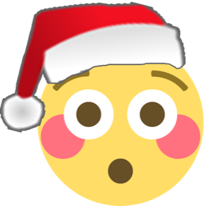 Santa Emoji messages sticker-7