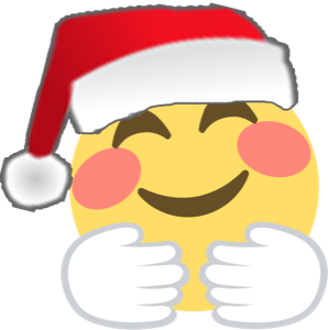 Santa Emoji messages sticker-0