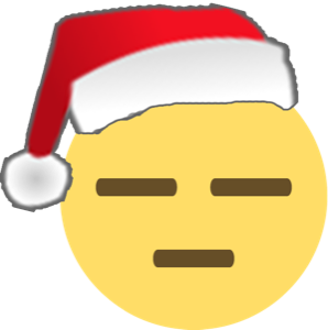 Santa Emoji messages sticker-4