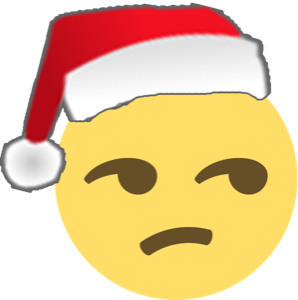 Santa Emoji messages sticker-11