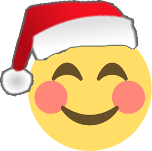 Santa Emoji messages sticker-2