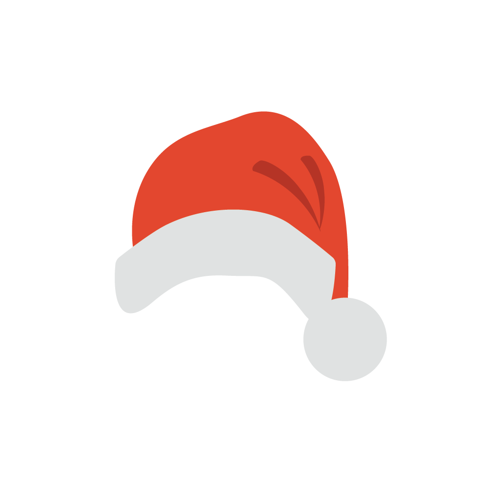 Santa Hats for iMessage messages sticker-7