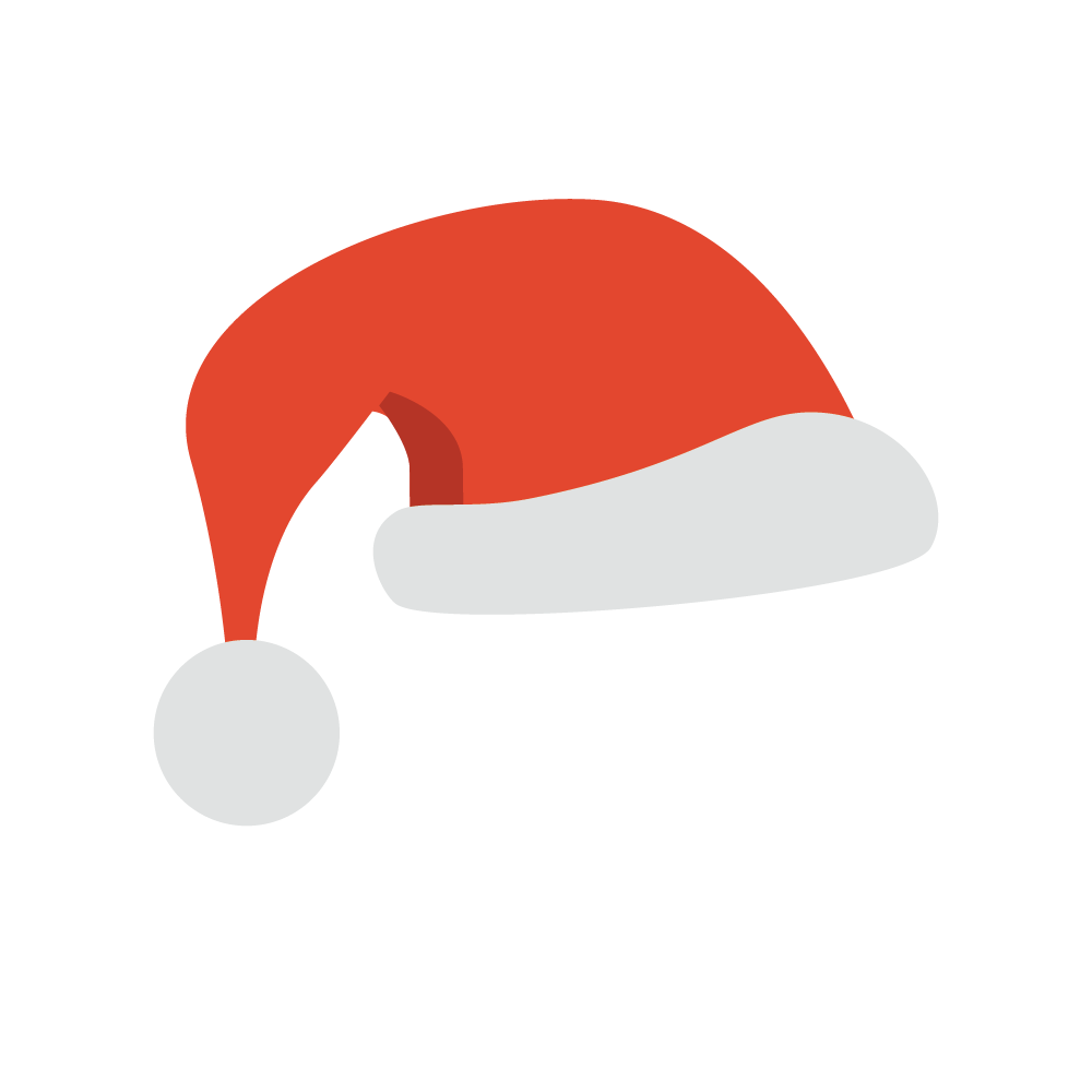 Santa Hats for iMessage messages sticker-1