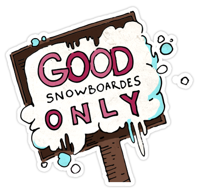 Riders on the Snow messages sticker-5