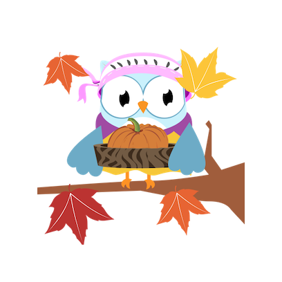 Christmas Owl Stickers - Xmas Turkey Sticker messages sticker-6