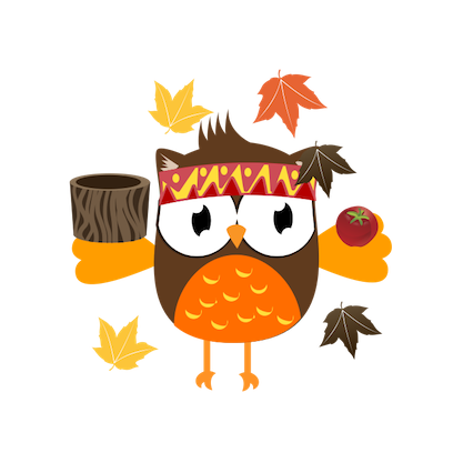 Christmas Owl Stickers - Xmas Turkey Sticker messages sticker-2