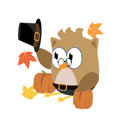 Christmas Owl Stickers - Xmas Turkey Sticker messages sticker-5
