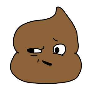 Mr. Poop messages sticker-10
