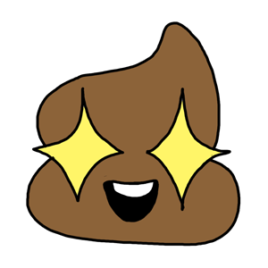 Mr. Poop messages sticker-11