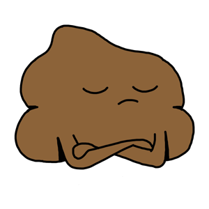 Mr. Poop messages sticker-2
