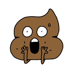Mr. Poop messages sticker-5