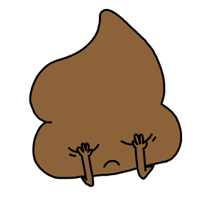 Mr. Poop messages sticker-3
