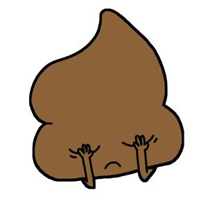 Mr. Poop messages sticker-3