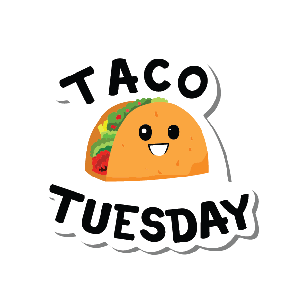 Taco Tuesday messages sticker-4