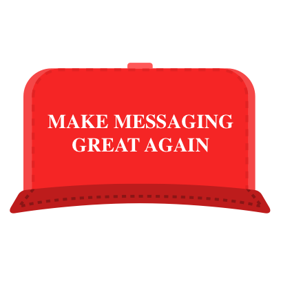Make Messaging Great Again messages sticker-4