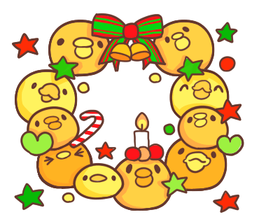 Yelly Xmas The Chicken Stickers messages sticker-1