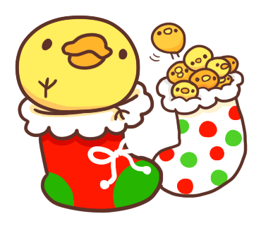 Yelly Xmas The Chicken Stickers messages sticker-10