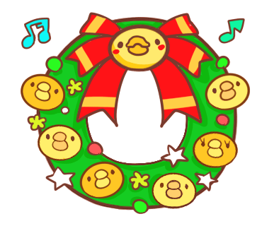 Yelly Xmas The Chicken Stickers messages sticker-0