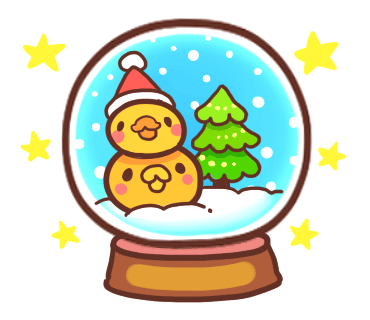 Yelly Xmas The Chicken Stickers messages sticker-5