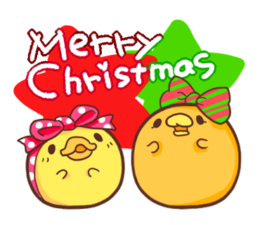 Yelly Xmas The Chicken Stickers messages sticker-11