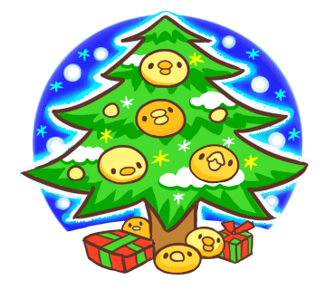 Yelly Xmas The Chicken Stickers messages sticker-3