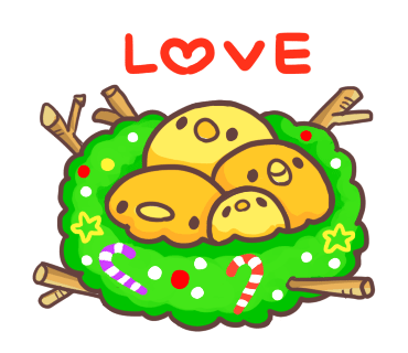 Yelly Xmas The Chicken Stickers messages sticker-6