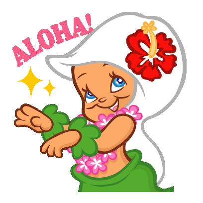 BochAloha(ボチャロハ)Mapuaちゃん Vol.1 messages sticker-5