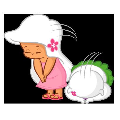 BochAloha(ボチャロハ)Mapuaちゃん Vol.2 messages sticker-2
