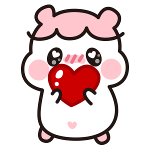 Hamster DORA − NHH Stickers messages sticker-8