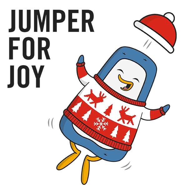 Christmas Jumper Day! messages sticker-1