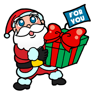 Funny Love Xmas Stickers messages sticker-2