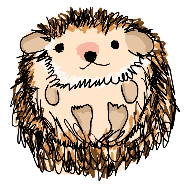 Harold the Hedgehog Stickers messages sticker-9