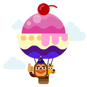 WowPop : Floaty Balloon messages sticker-10