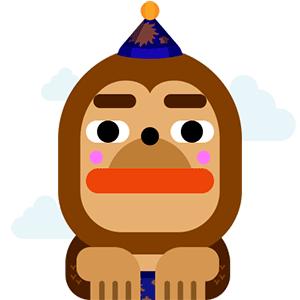 WowPop : Floaty Balloon messages sticker-0