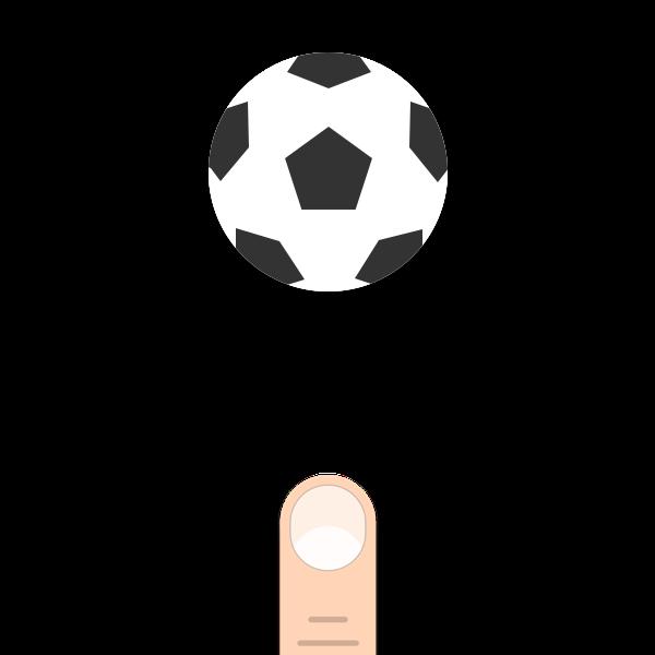 Bounce Finger Soccer messages sticker-1