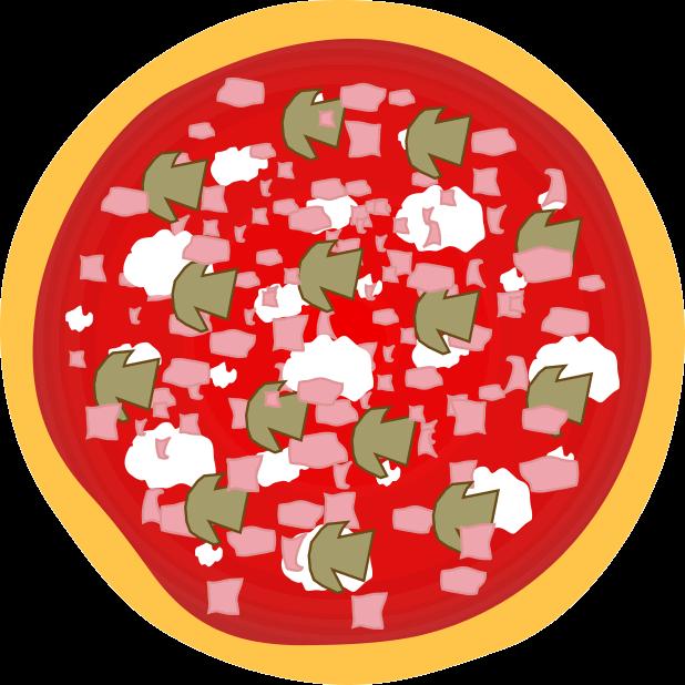 Pizza Food Sticker messages sticker-2