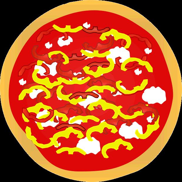 Pizza Food Sticker messages sticker-1