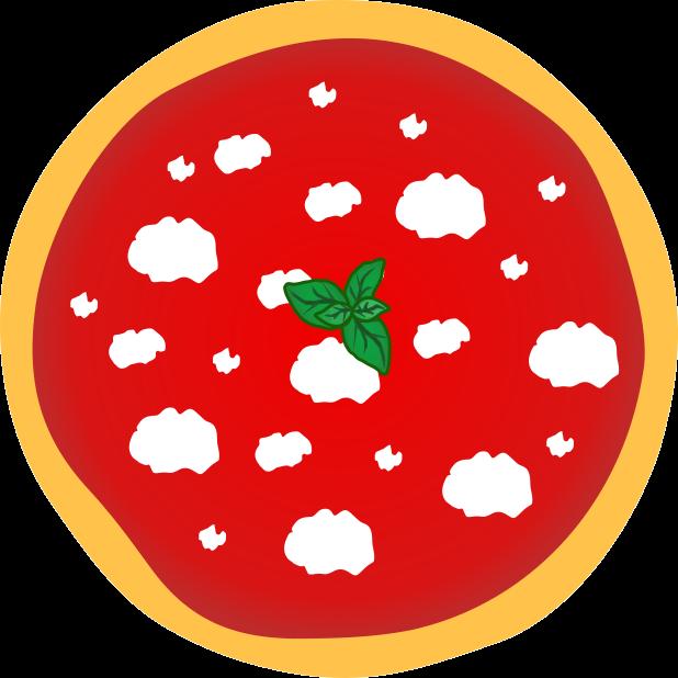 Pizza Food Sticker messages sticker-0
