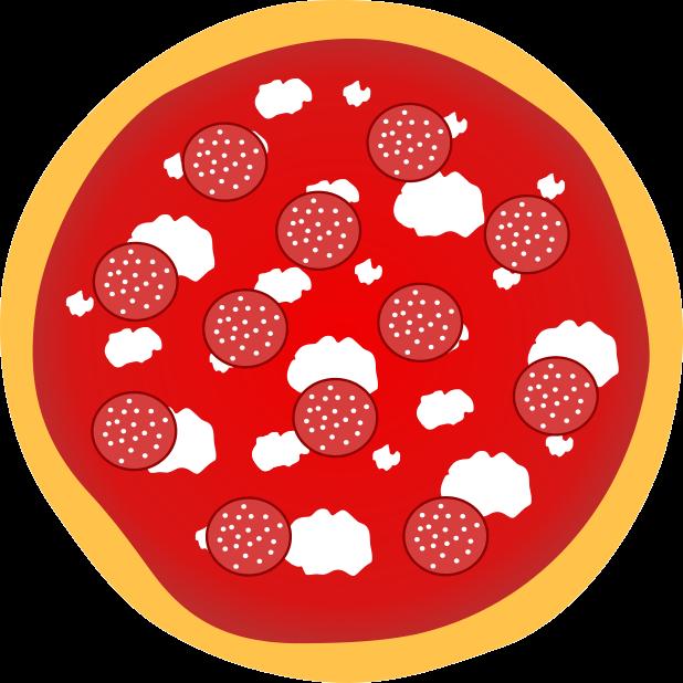 Pizza Food Sticker messages sticker-5