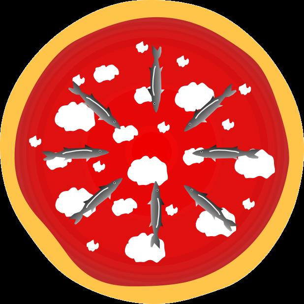Pizza Food Sticker messages sticker-6
