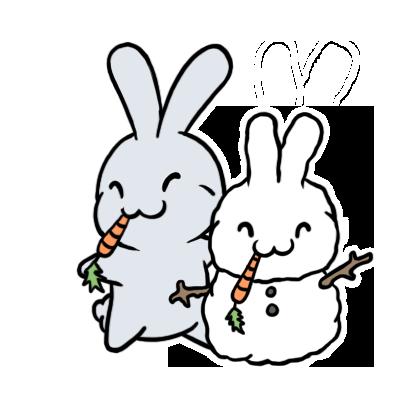 Winter Aminals messages sticker-6