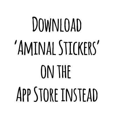 Winter Aminals messages sticker-0